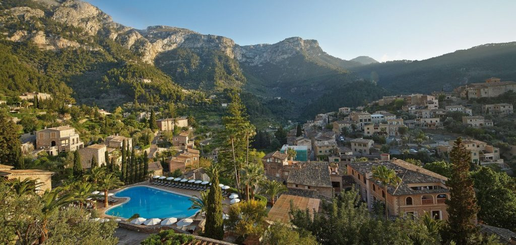 Swim outside with this amazing view - Belmond La Residencia - Confirmed room upgrade with MallorcanTonic