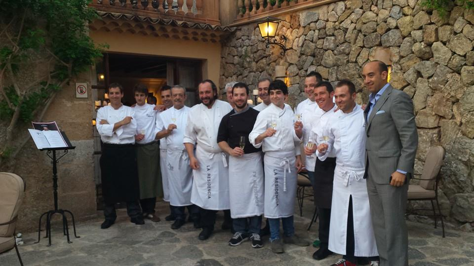 The welcoming team at Belmond La Residencia - Mallorca