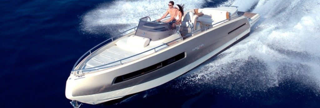 Boat Charter Boutique Hotel Can Alomar -Invictus Speedboat 280