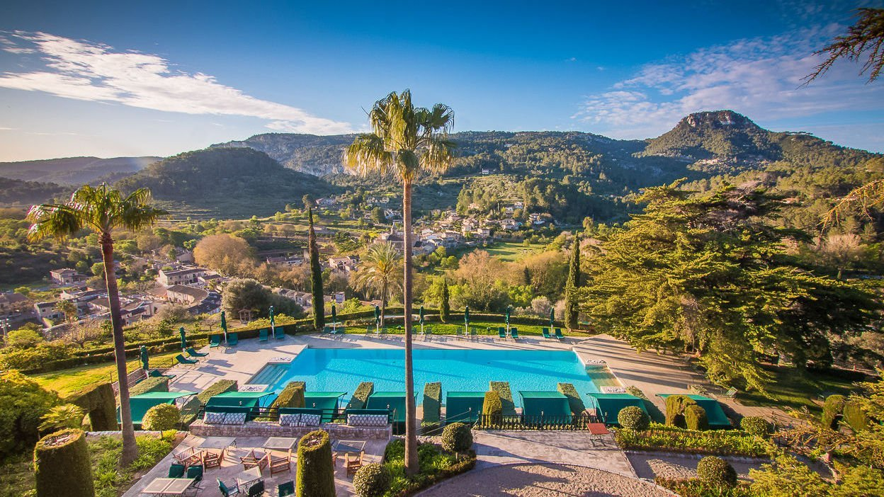 Hard to beat the view at Gran Hotel Son Net - Luxury hotels MallorcanTonic
