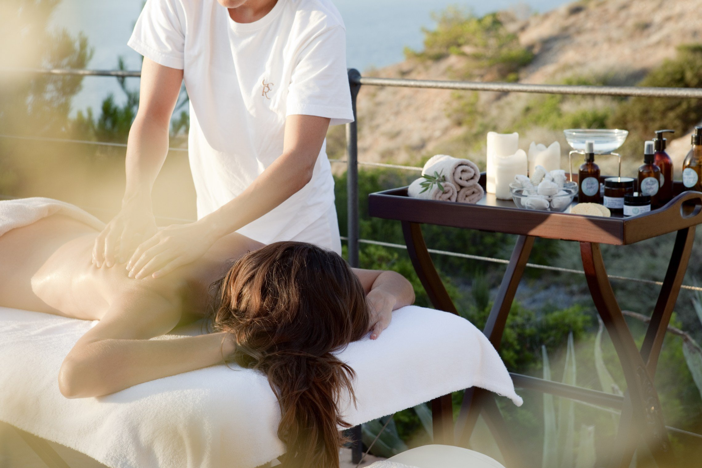 Be pampered at the spa at the old fort Cap Rocat luxury hotel - Palma