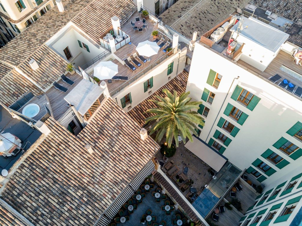 Hotel Tres - Palma - Mallorca - Aerial - Boutique Hotel - Special Offer