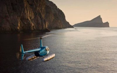 Come fly with me …Balearic Helicopters