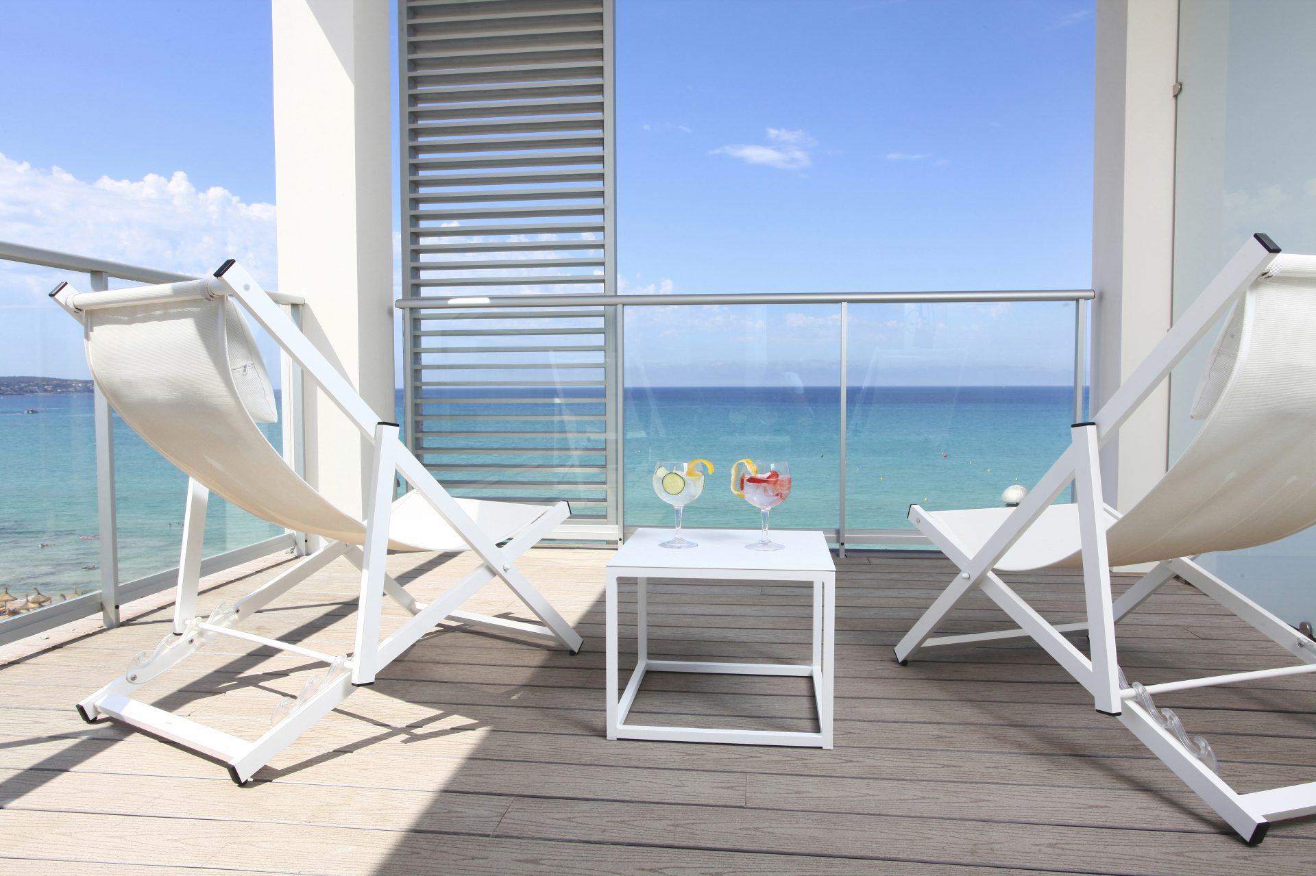 Pure Salt - Luxury Hotels - Bedroom balcony - Playa de Palma - Mallorca