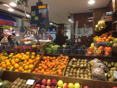 Mercat Olivar walking tour