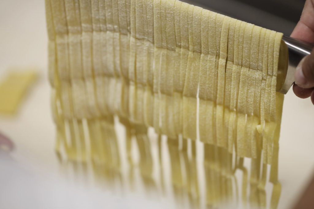 Fresh pasta made every day at Bo Hotel Palma´s Italian Restaurant