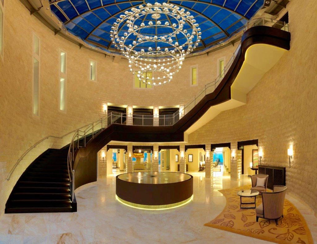 Make an entrance at Jumeirah Port Soller - Luxury Hotels Mallorca - Lobby