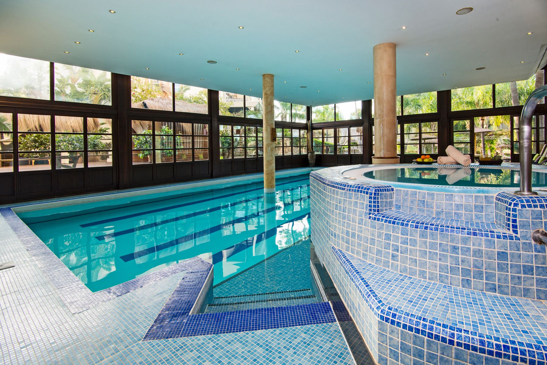 Retreat to the spa at The Lindner Golf & Wellness Resort