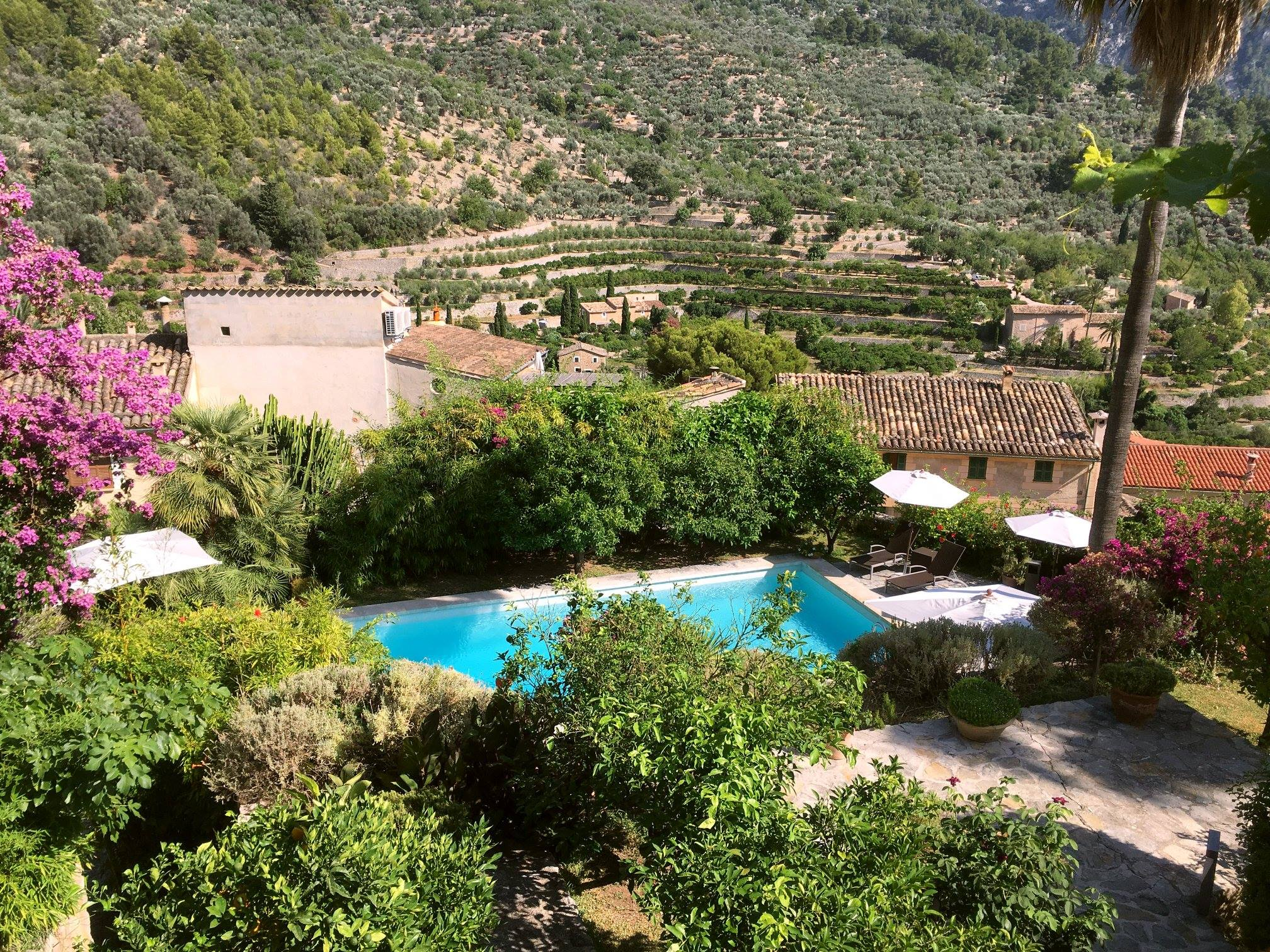 Can Verdera - View from the terrace  - Fornalutx - Tramuntana
