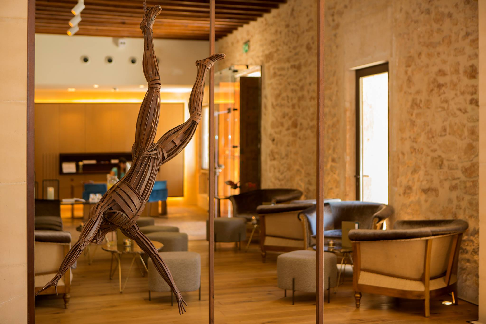 Enjoy the art works at Sa Creu Nova luxury hotel - Mallorca