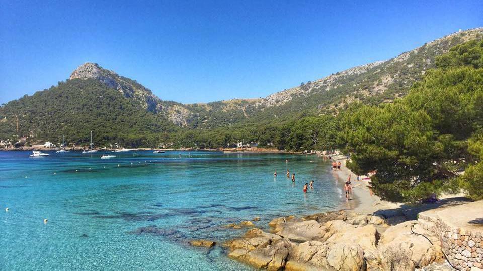 Beach at Formentor - Mallorca