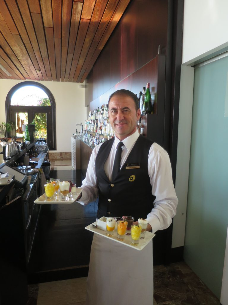 Best breakfast in the world at Hospes Maricel and Spa Hotel Palma