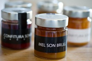 Delicious home made preserves and honey - Son Brull Luxury Hotel