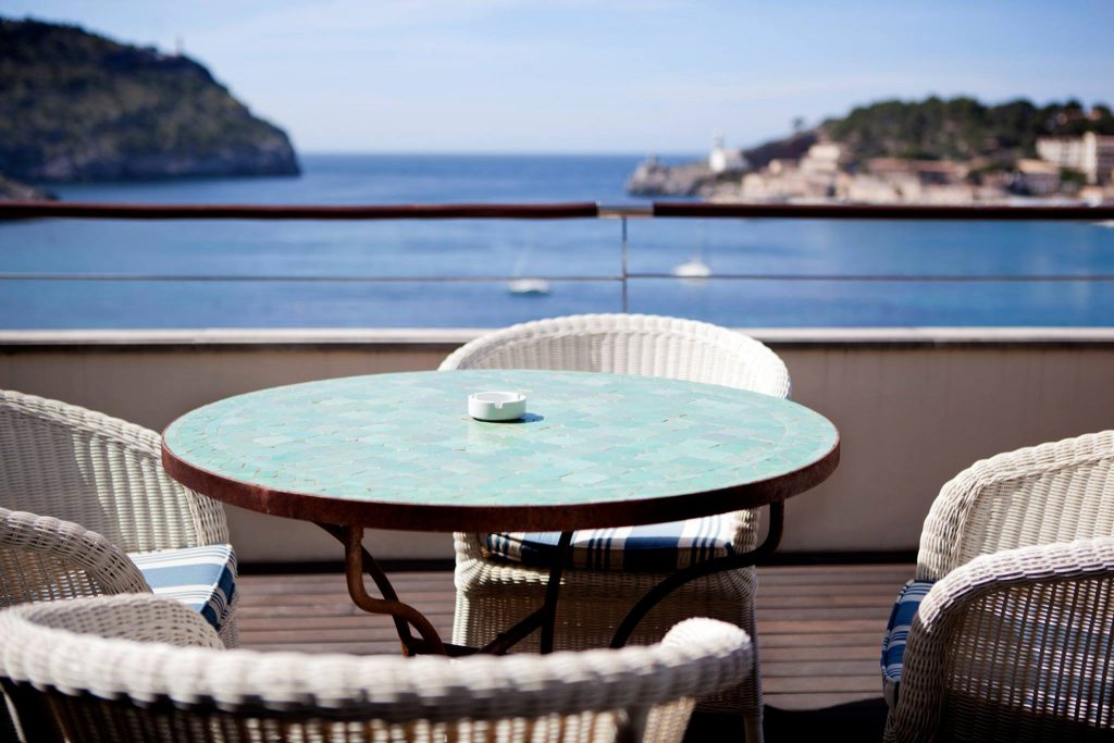 Room with a view at Esplendido Hotel | MallorcanTonic