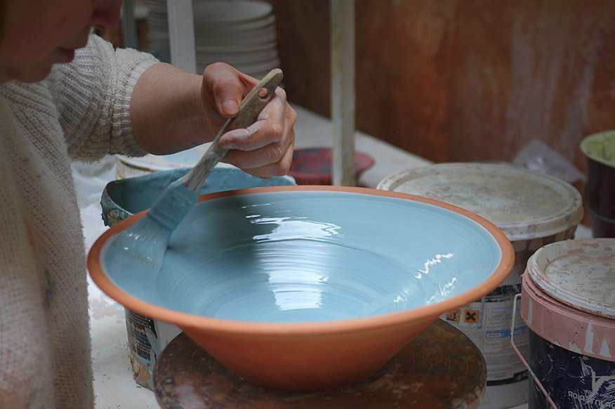 Hand Made Ceramics - Mallorca - Portol - Pottery Painting