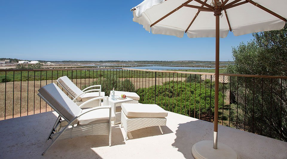 Views from your terrace at Font Santa Wellness & Spa