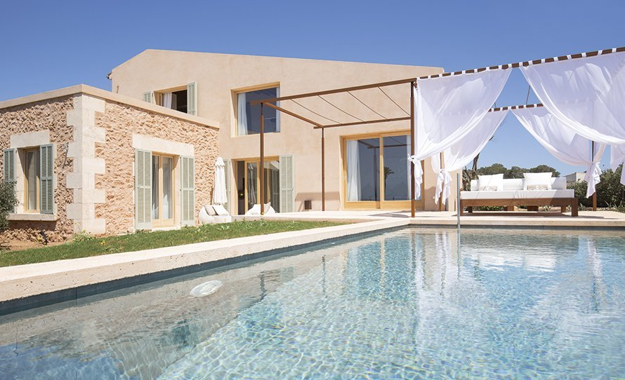 The luxury two bedroom Villas at Font Santa Wellness & Spa - Special Offers