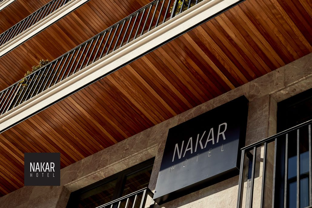 Cool views of the outside Nakar Hotel - Palma