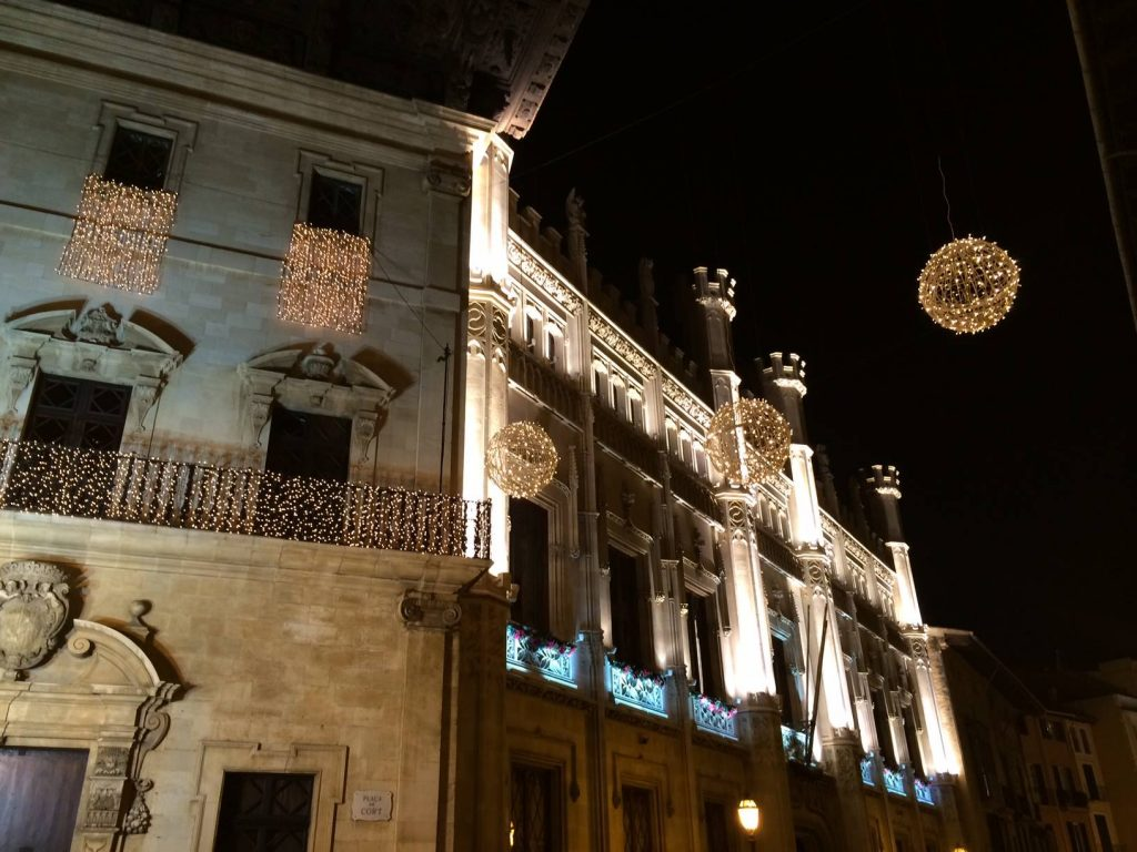 Christmas in Mallorca - Palma Lights in Place Cort - Mallorca in Winter