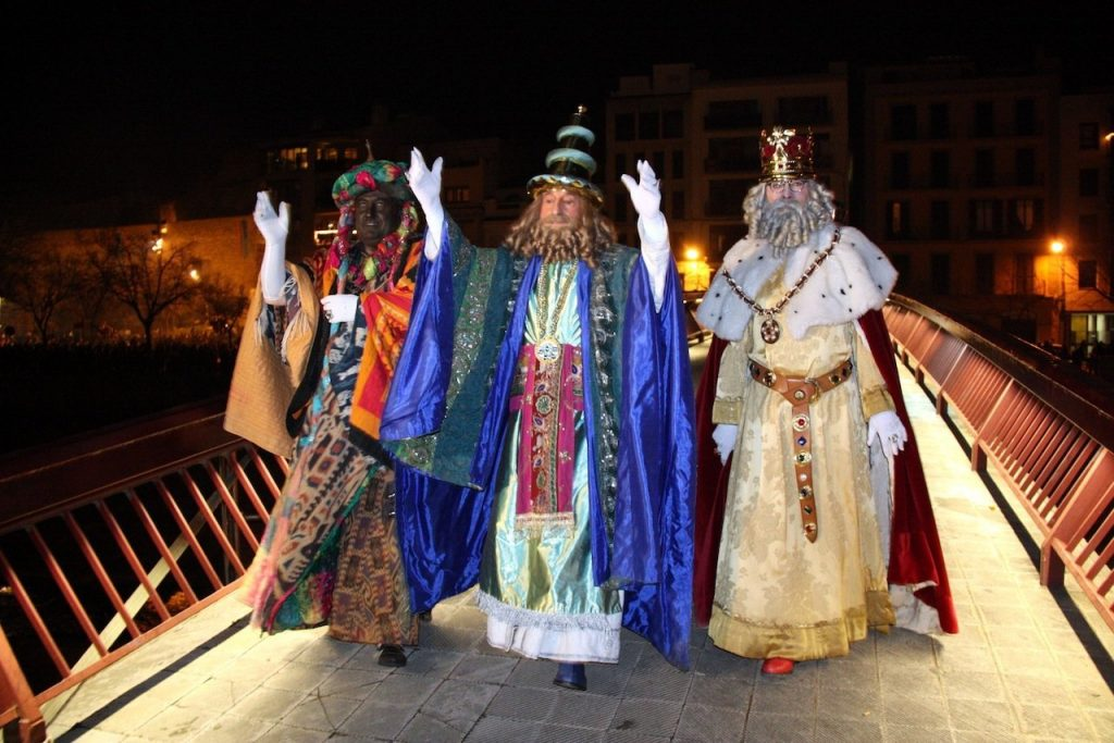 The Three Kings Parade in Palma - January in Mallorca