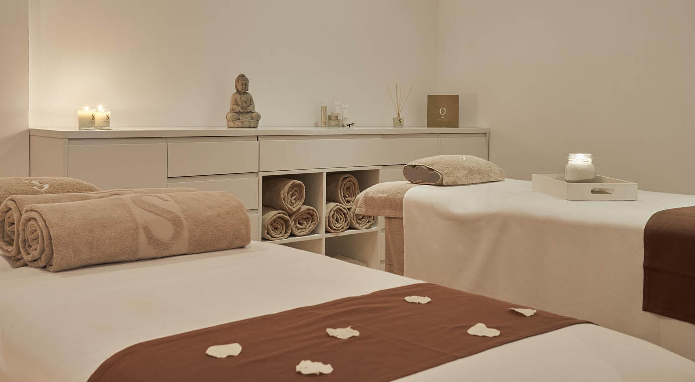 Retreat yourself at the spa at Pure Salt Adriano Hotel