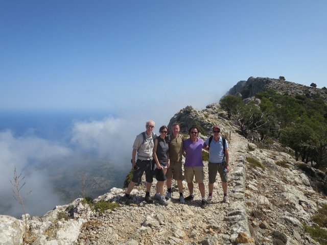 Archdukes Way view from the top - Mallorca