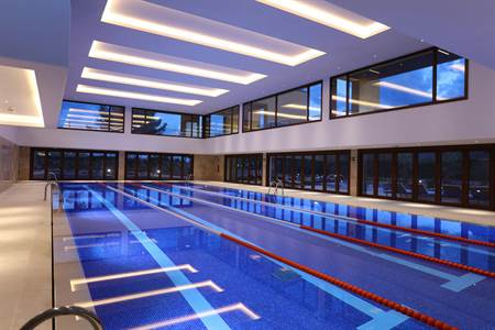 The Indoor Pool - Cap Vermell Country Club