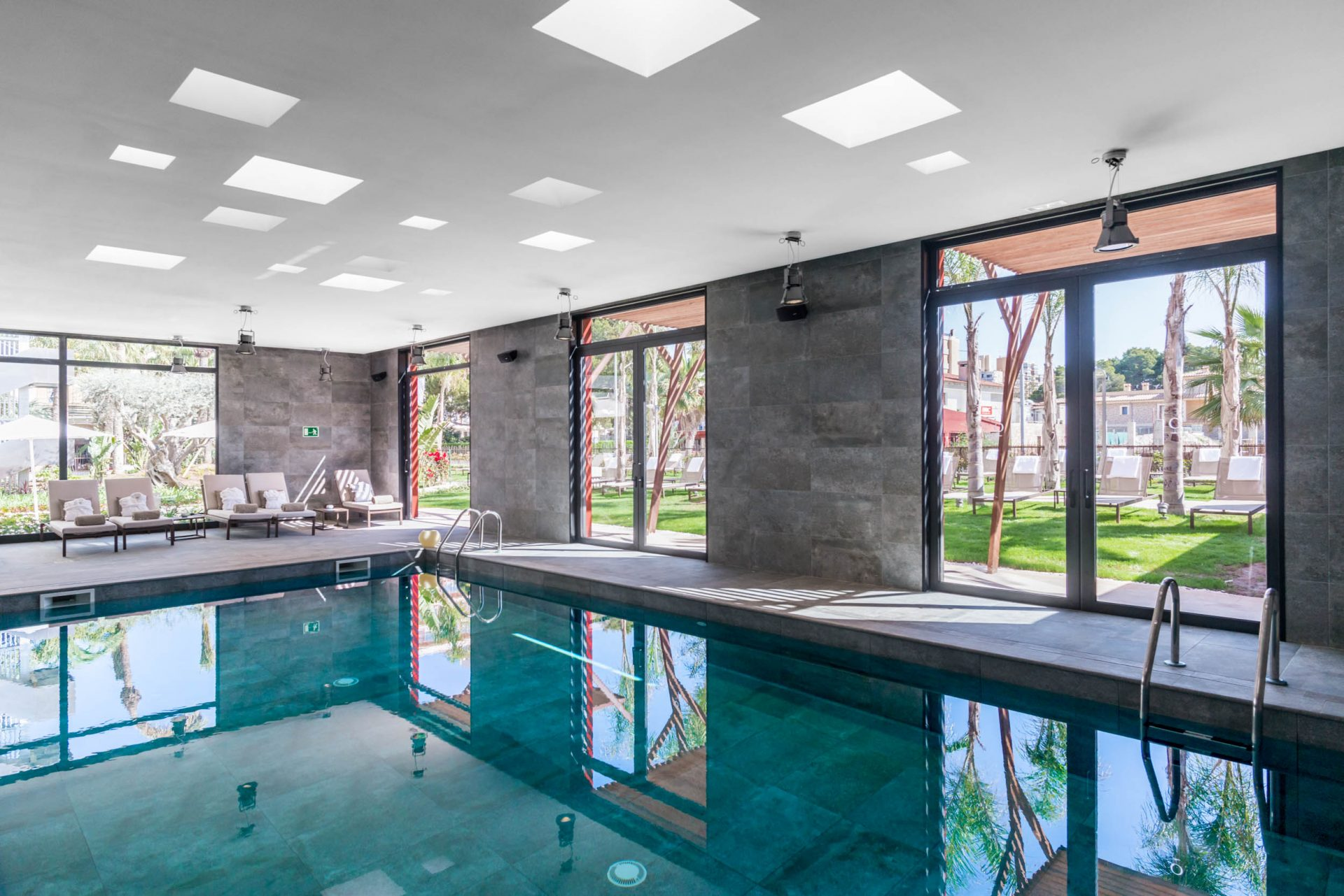 Indoor heated pool in the spa at Pure Salt Garonda - Playa de Palma - Special Offers with MallorcanTonic