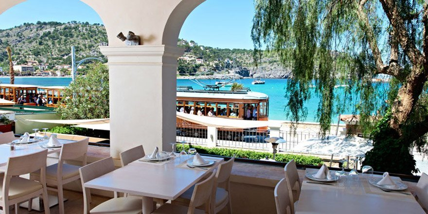 Terrace at Restaurant Randemar - Port de Soller