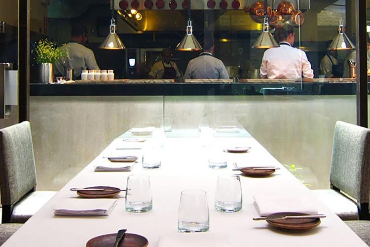 Private dining at chefs table Zaranda Restaurant