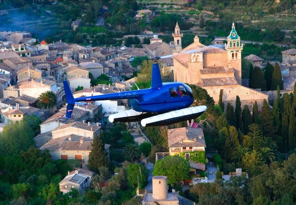 Balearic Helicopters - Helicopters Mallorca - Sight Seeing Helicopters