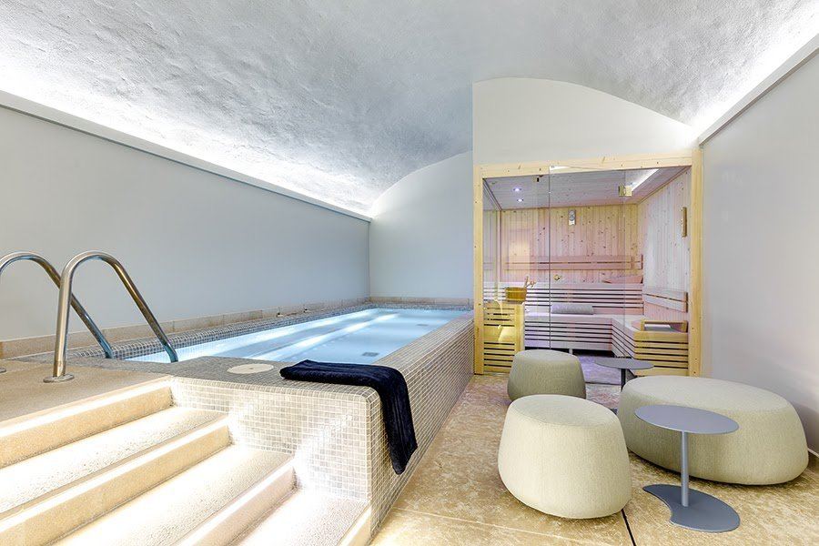 Retreat to the spa pool at Boutique Hotel Sant Jaume -Luxury Hotels - MallorcanTonic