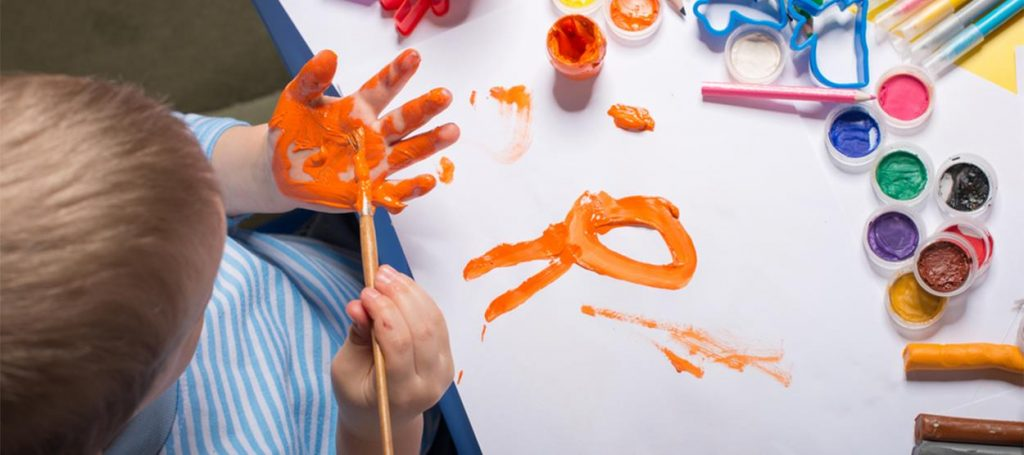 Get painting at the Jumeirah Kids Club - Mallorca