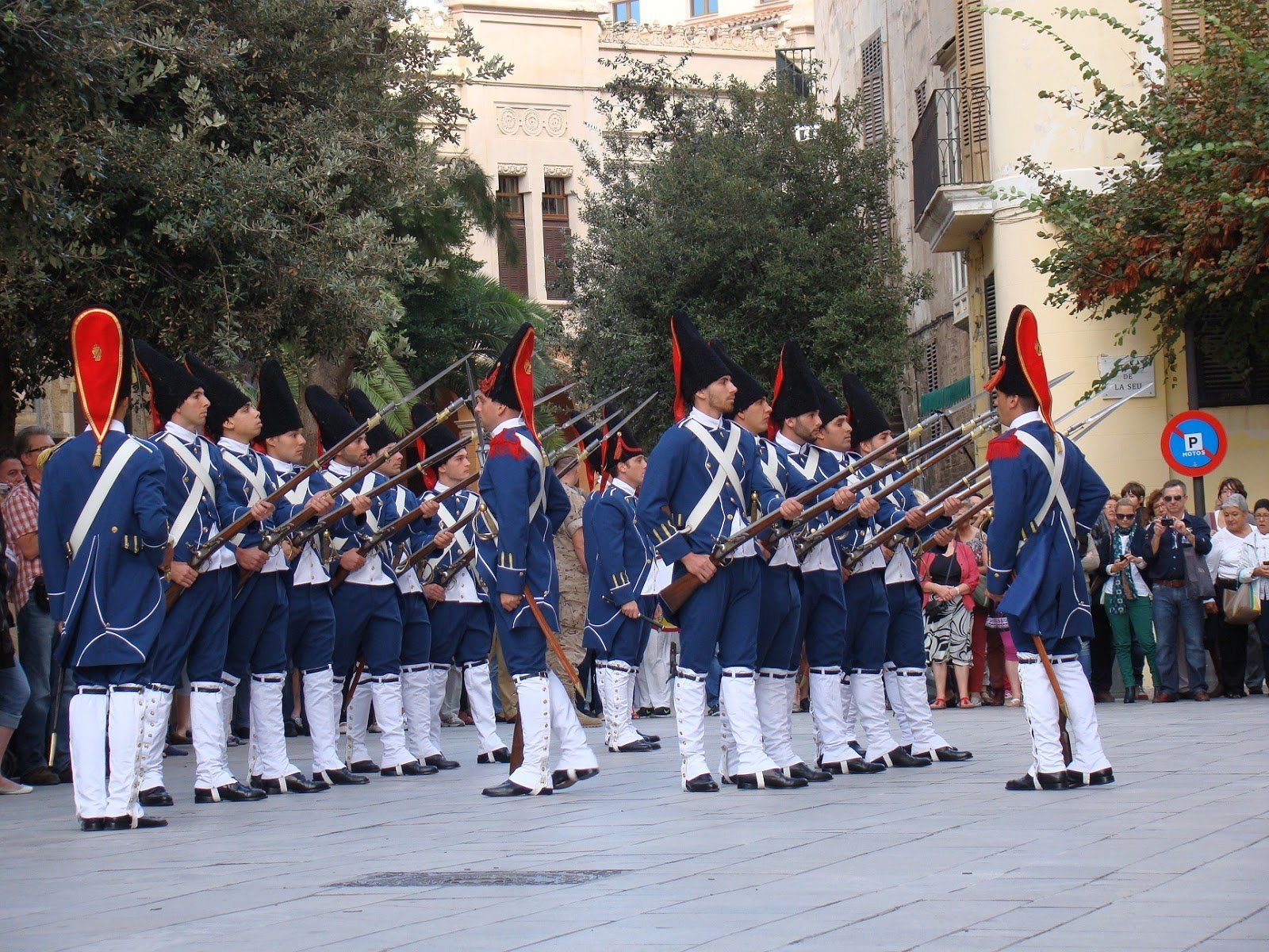 Changing of the Guard - Palma - Mallorca