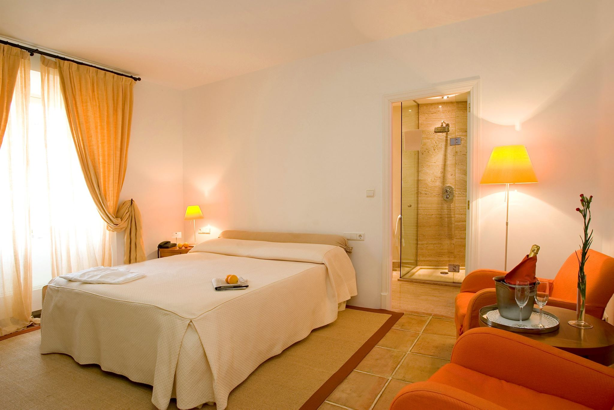 Can Verdera´s bright and quiet bedrooms  - Fornalutx (Mallorca)