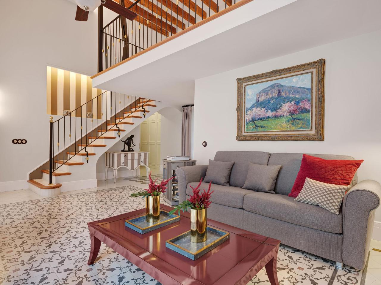The Loft Suite at Hotel Gloria for a special treat - Palma