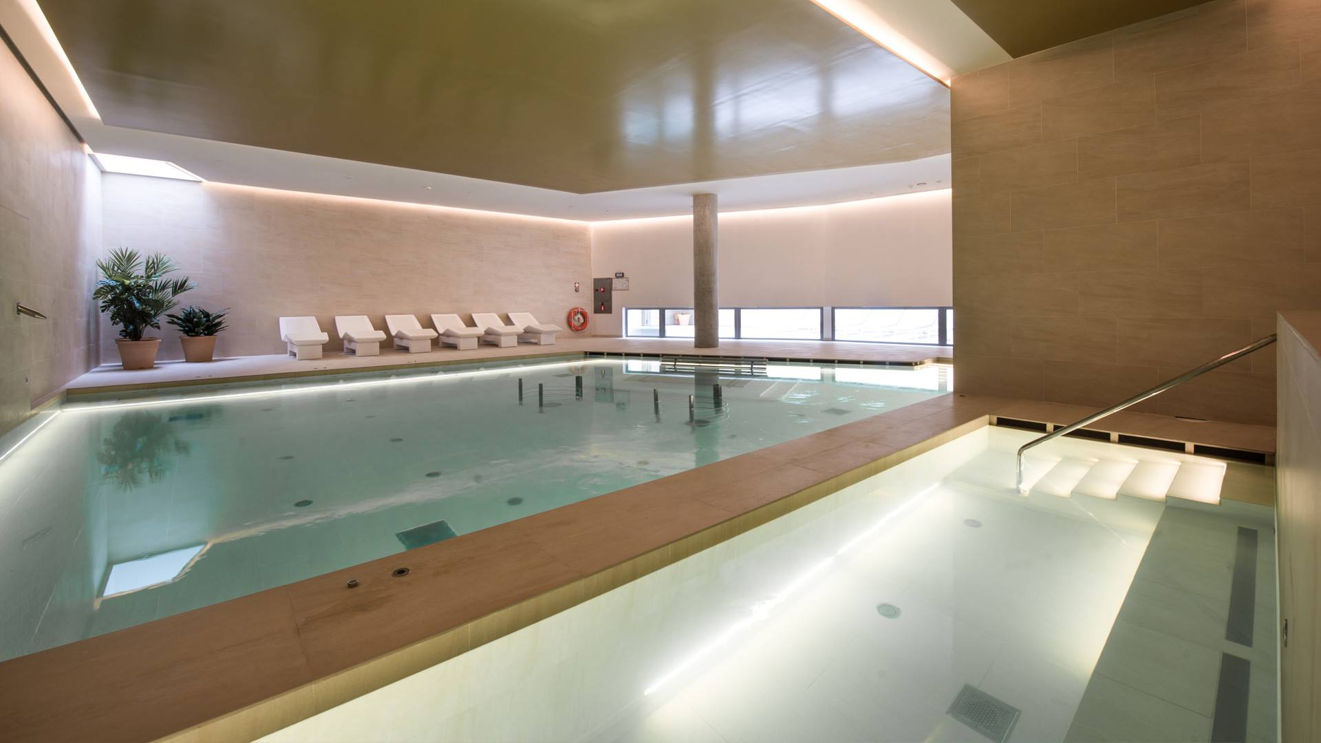 Hotel Llaut Palace - indoor swimming pool and spa - Mallorca