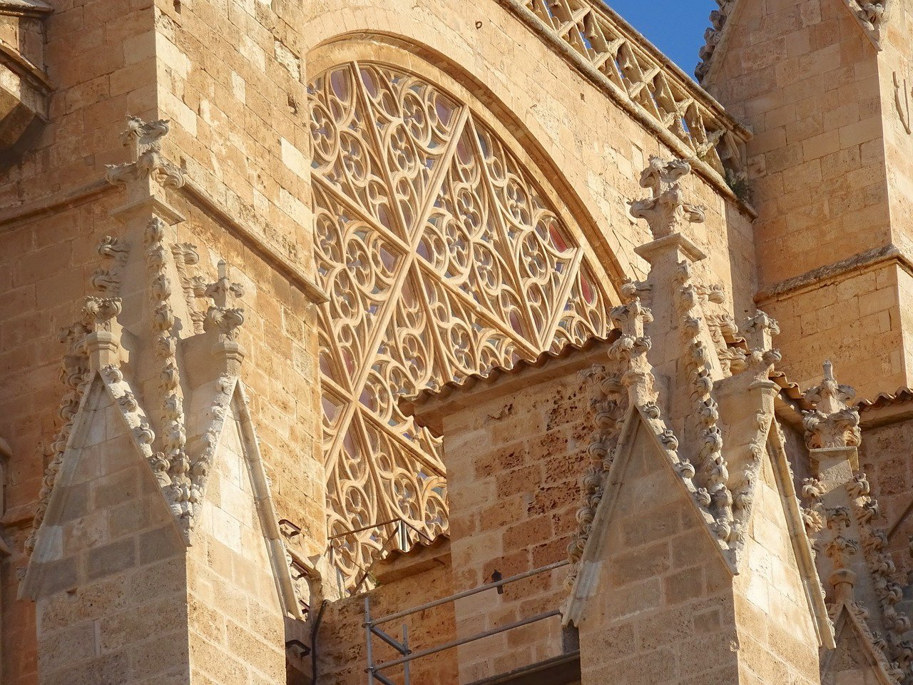 Palma Cathedral Mallorca - Rose Window