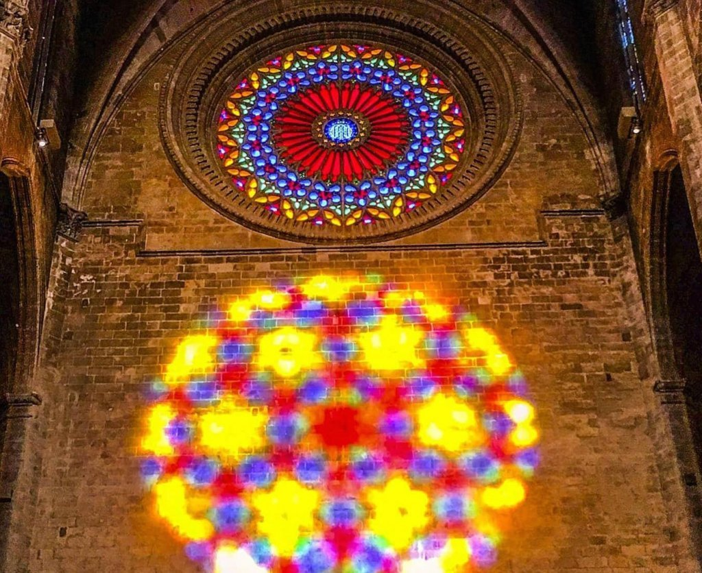 Light Show at the Cathedral in Palma