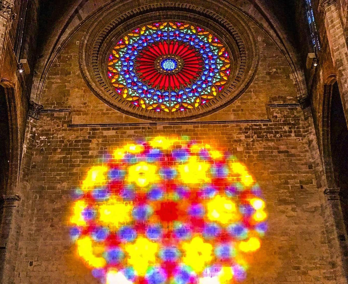 Rose Window at Palma Cathedral