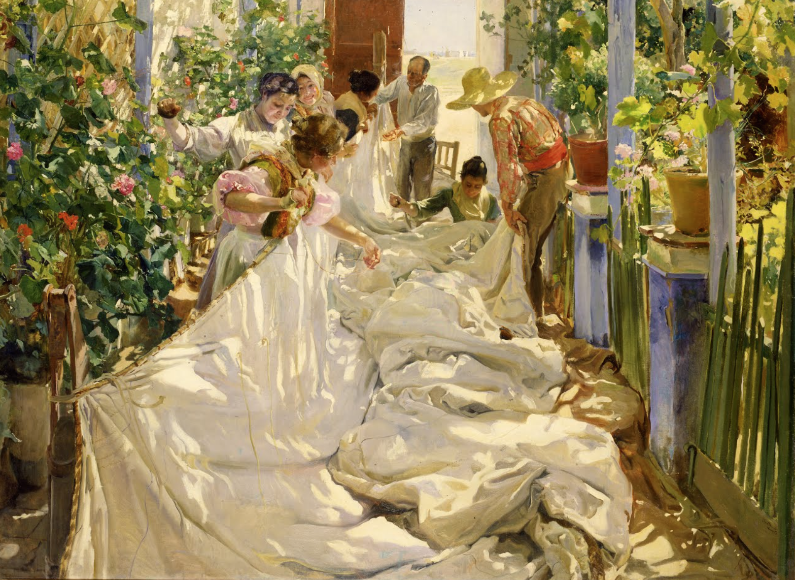 Frare Art Joaquin Sorolla _ Stephen Burgess Interpretation