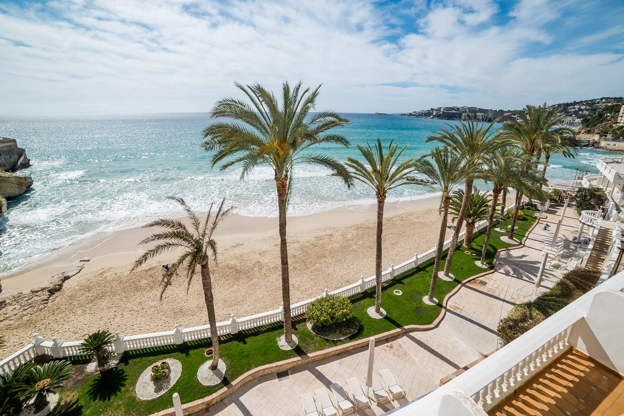 Daily Mail - Deal of the Week - Nixe Palace View out to the Med
