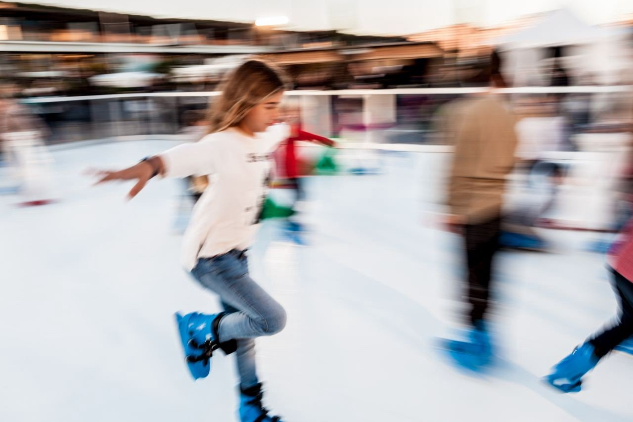 Christmas Ice park - Port Adriano Mallorca - Mallorca in Winter