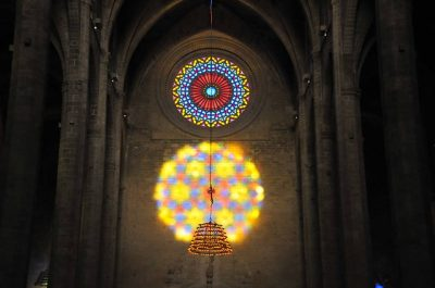 Palma Cathedral Light Show