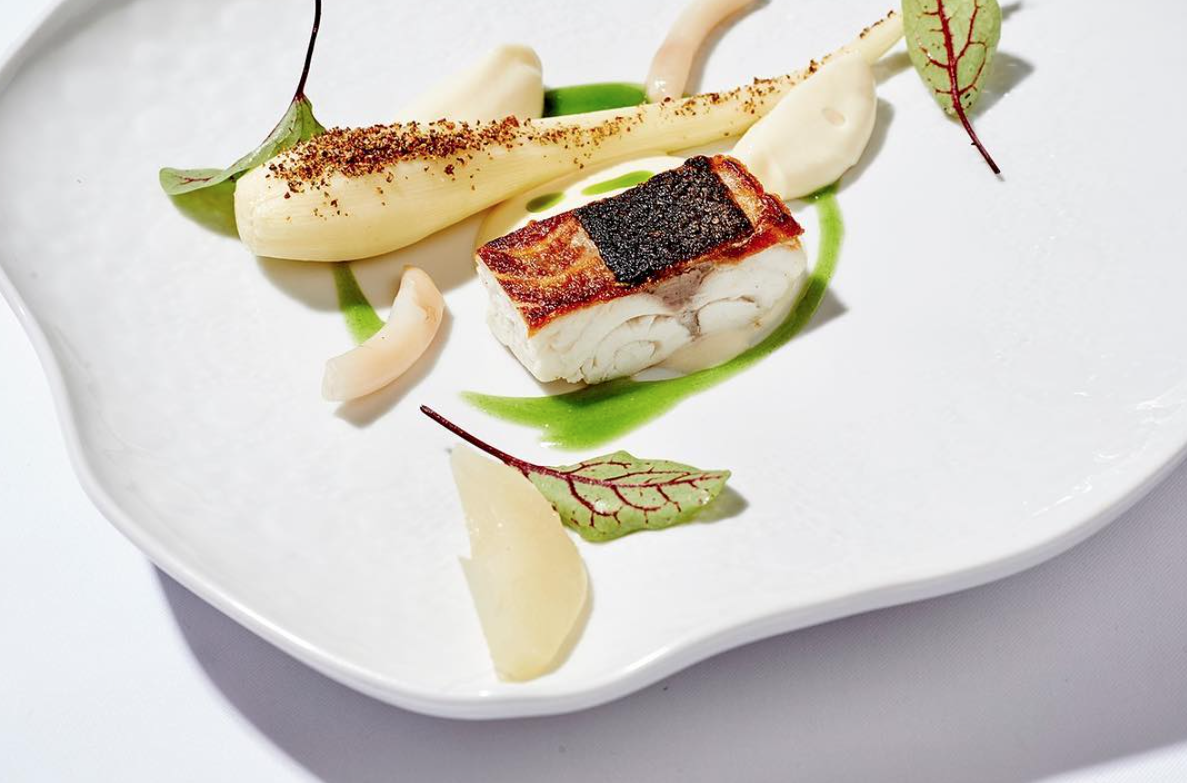 Marc Fosh Innovate Cuisine of #Mallorca ingredients in each dish.
