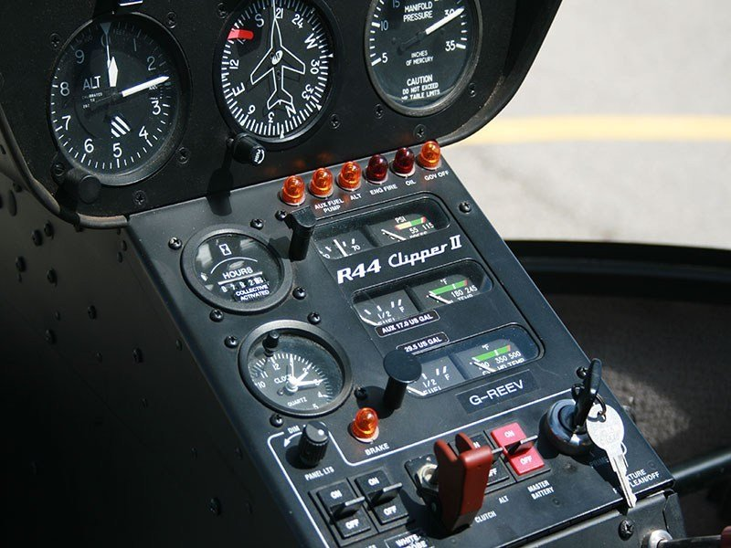 Aviation Centre - Helicopter Controls