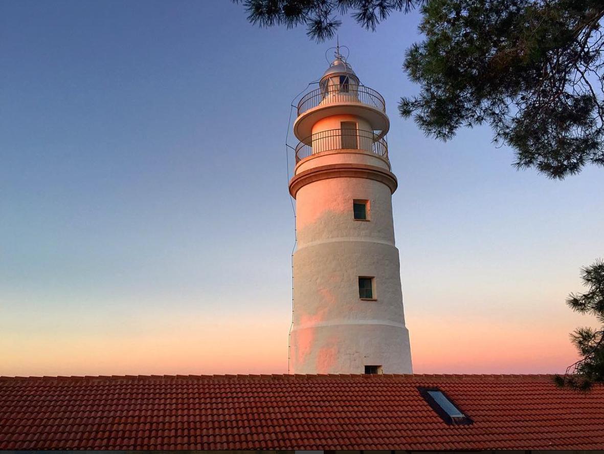 Lighthouse at Sunset - Port de Soller