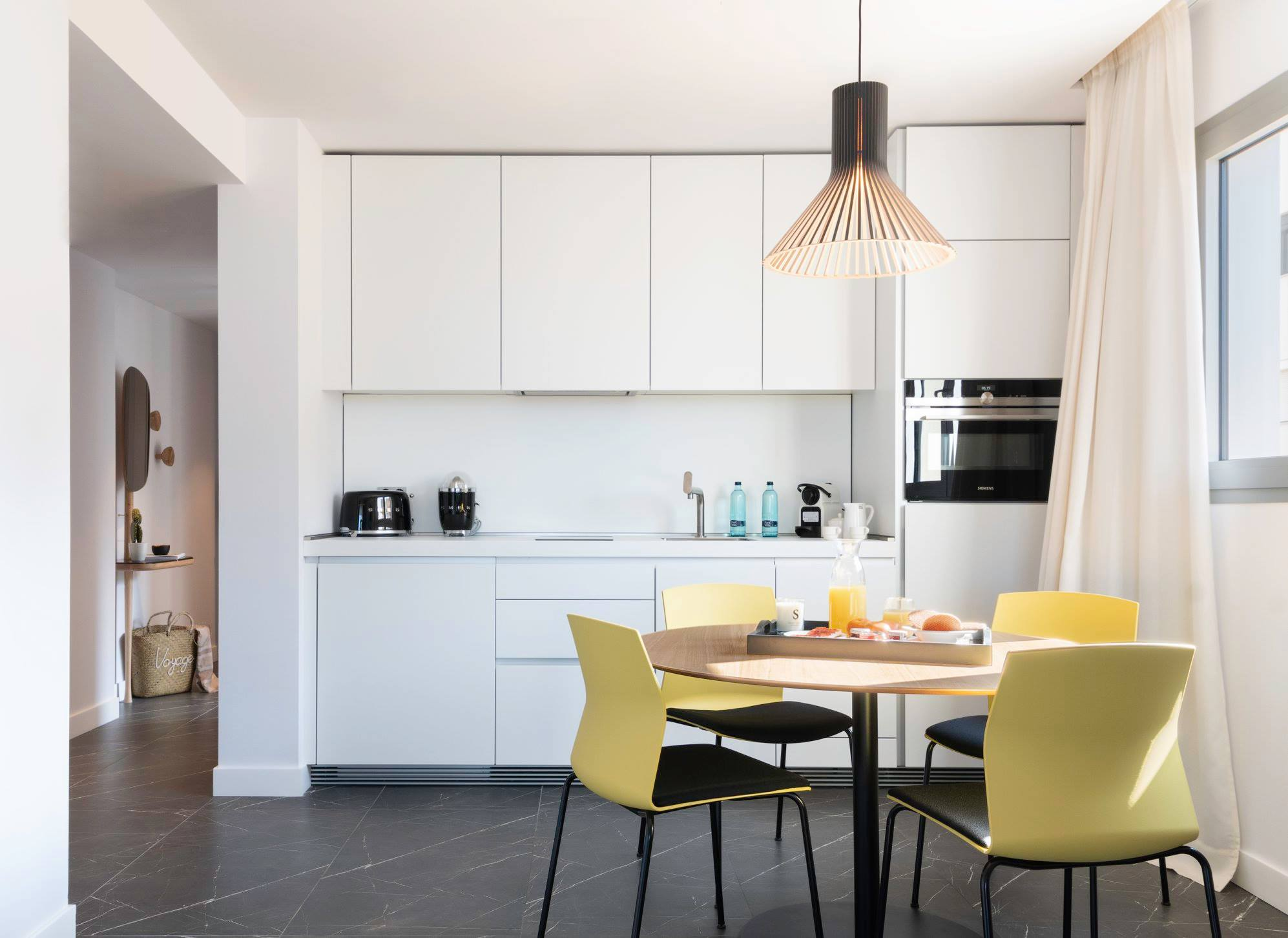 Pure Salt Residences Dining Area - Clean and Contemporary