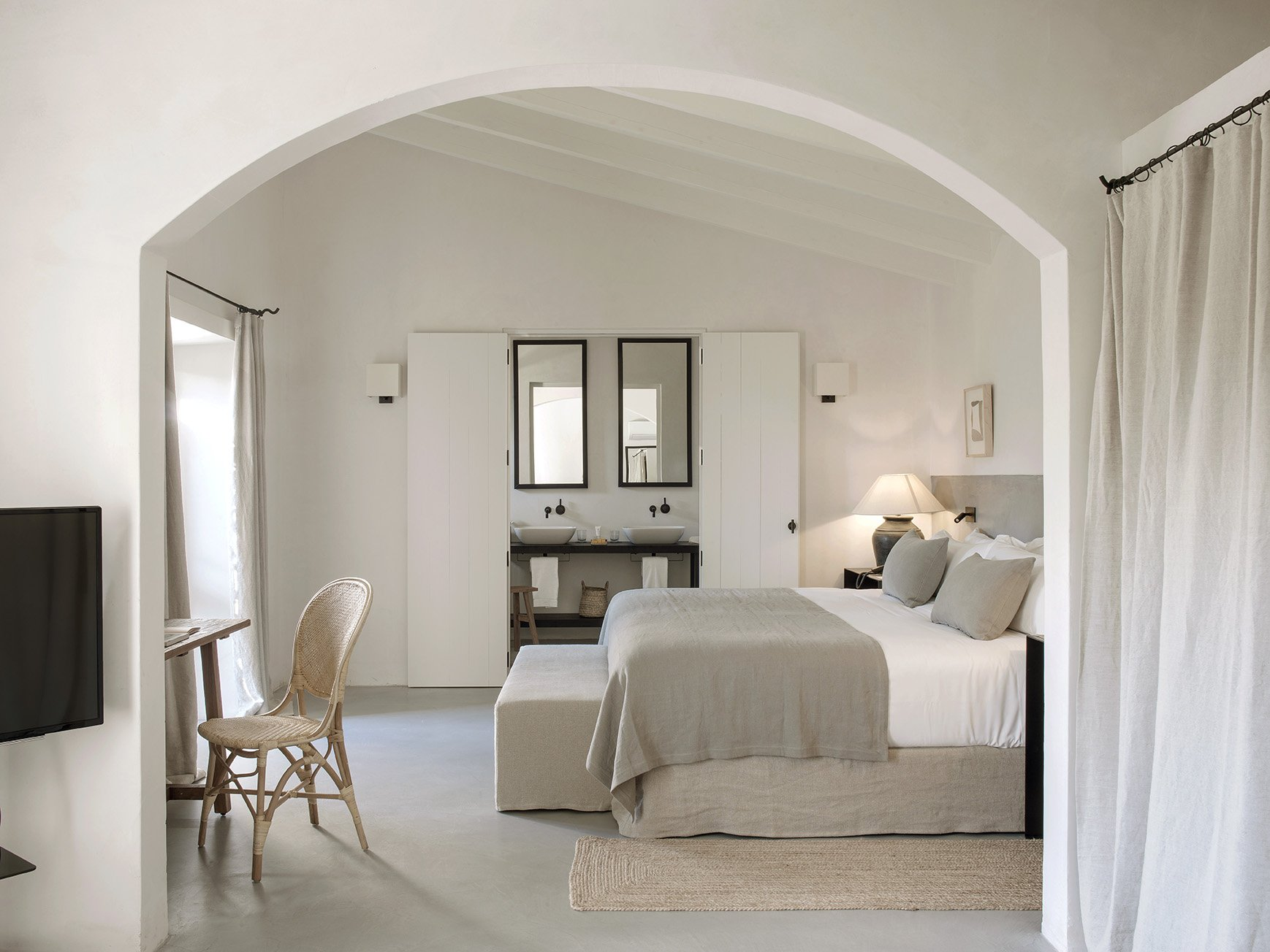 Suite at Finca Serena luxury in Majorca