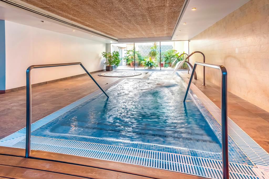 Indoor Pool - Aimia Hotel Soller